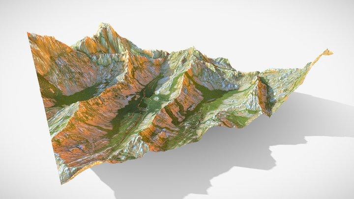 Landscape Sketching 3D Model