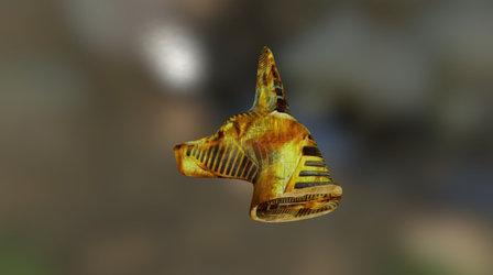 Anobi Egyptian 3D Model