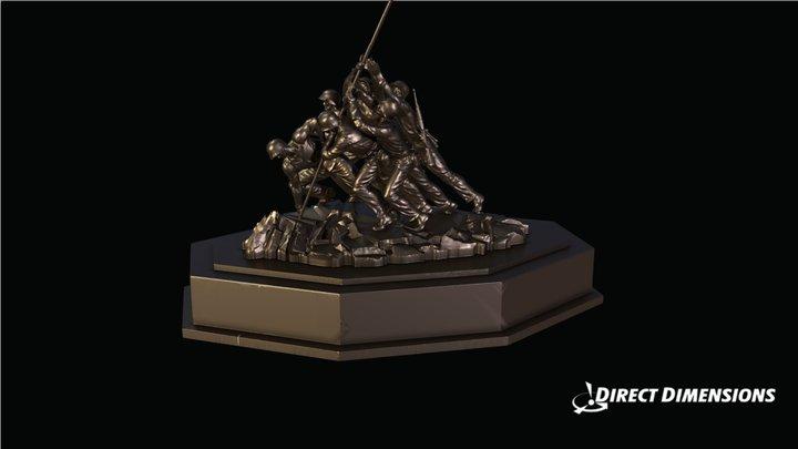 Iwo Jima Memorial 3D Model