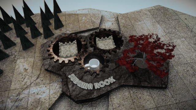 Caneca House Stark - Sublima Rock 3D Model