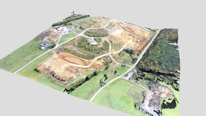 Shenandoah County Landfill Overview 3D Model
