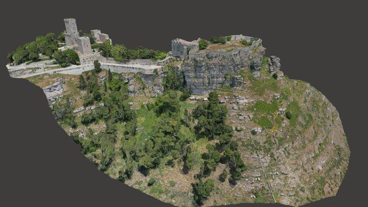 Castello di Venere - Erice (TP) 3D Model
