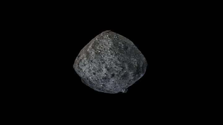 Asteroid Bennu 3D Model