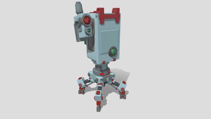 Communication Bot | Draft 3D Model