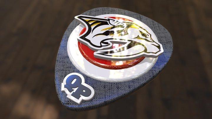 Quickservice Predators Shield 3D Model