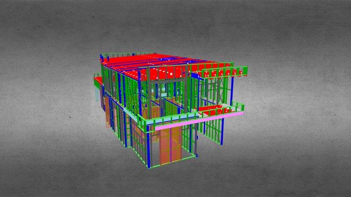 7669F- Dwelling A 3D Model