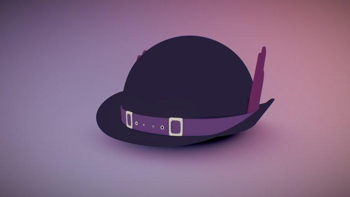 Jojo's Bizarre Adventure Speedwagon's Saw Hat 3D Model