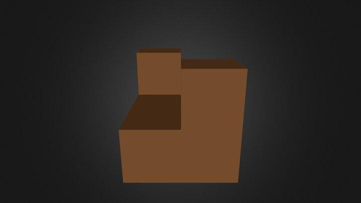 Brown Part 3D Model