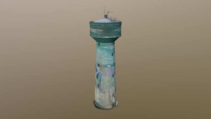 Chateau-d'eau 3D Model