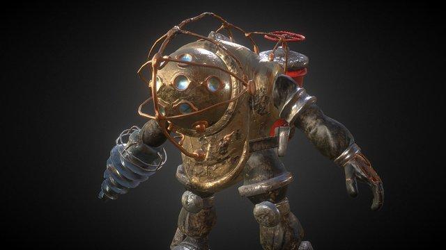 Big Daddy(fanart) 3D Model