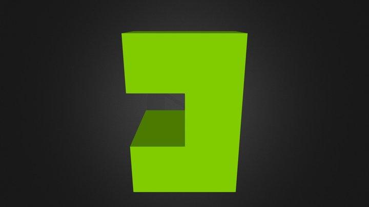 Green Part 3D Model