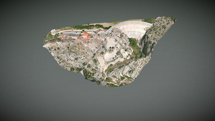 Presa Valdeinfierno 3D Model