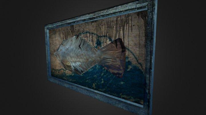 PlacaPeixe 3D Model