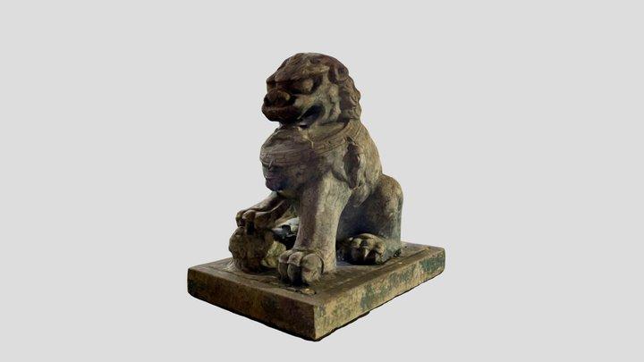 Sydney China Town Lion (LEFT) 3D Model