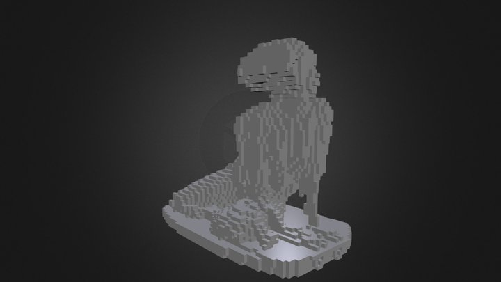 Tanya Voxelized 3D Model