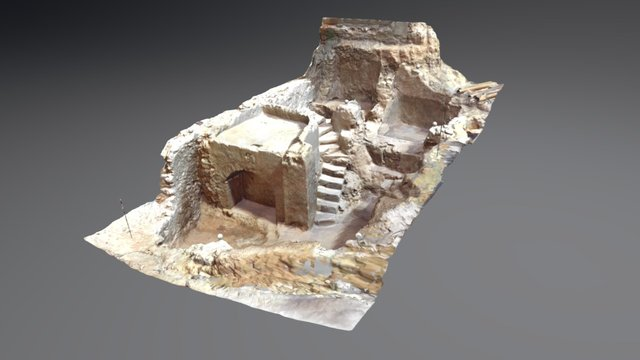 Restos arqueológicos Bodega_Teruel_escáner 3D 3D Model