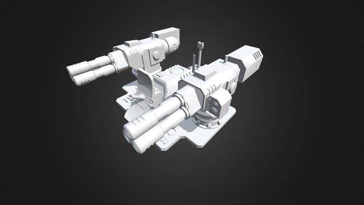 Stalker turret printable model 3D Model