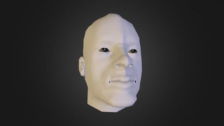 rhodey HEad 3D Model