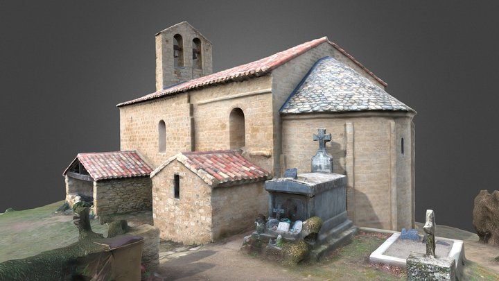 Eglise de Sainte- Foi / post 3D Model