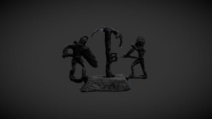 Gladiators (virtual restitution) 3D Model