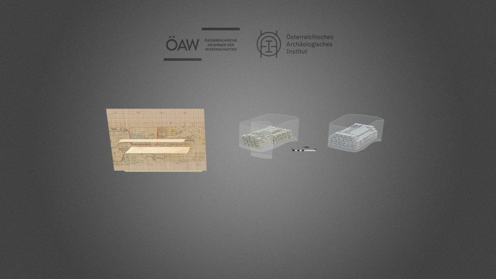 Tell el-Daba area F/I - j21 Tomb 8 3D Model