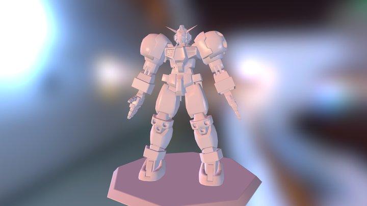 Gundam Titus 3D Model