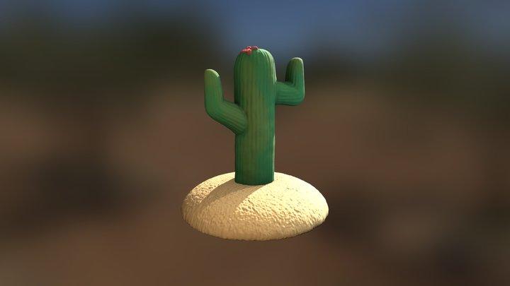 Sculpt January Day 04 - Desert 3D Model