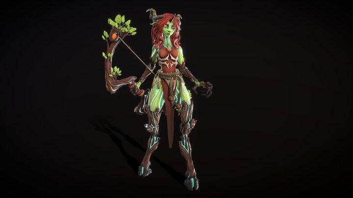 Mielikki, The Forest Spirit 3D Model