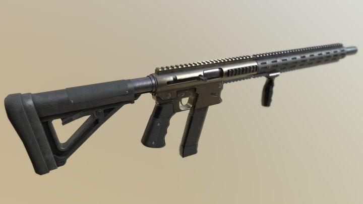 Aero Survival Rifle Custom 3D Model