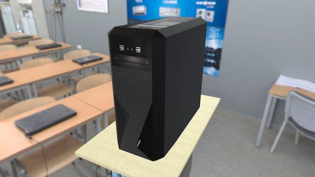 ZALMAN PC 3D Model