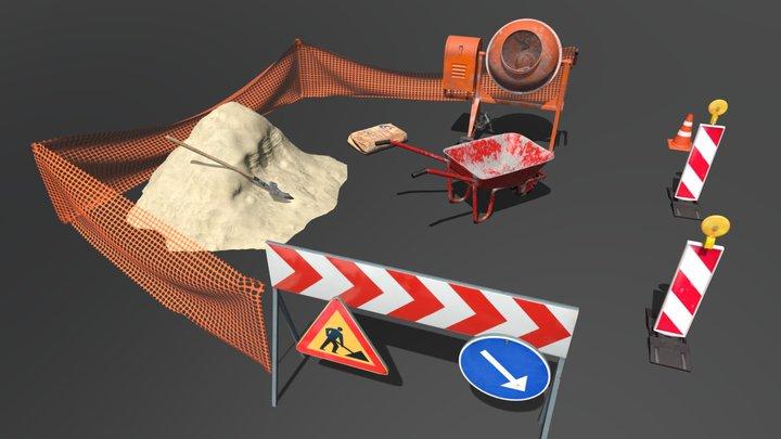 Roadwork 3D Model