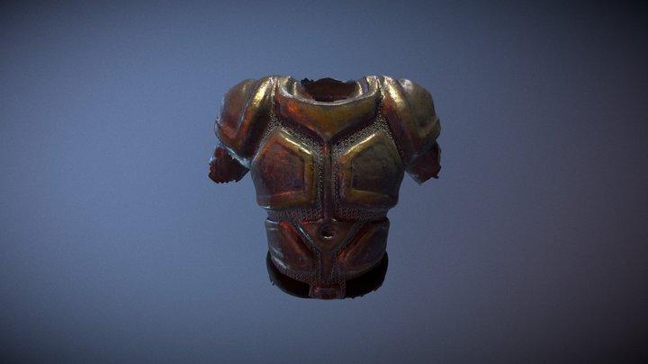 Plate Armor 3D Model