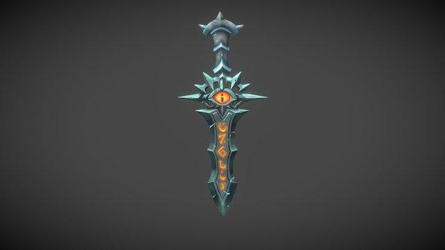 3December_01_Sword 3D Model