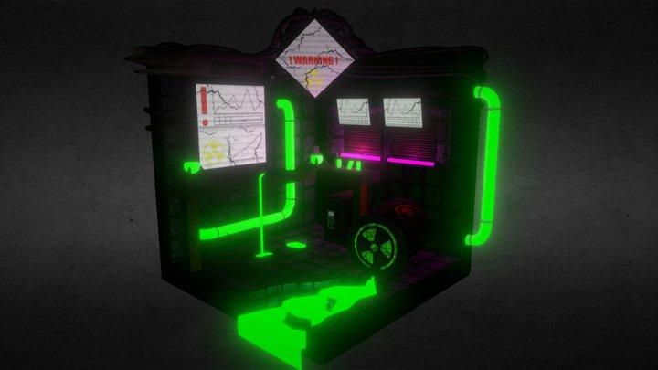Radiated Science Room 3D Model