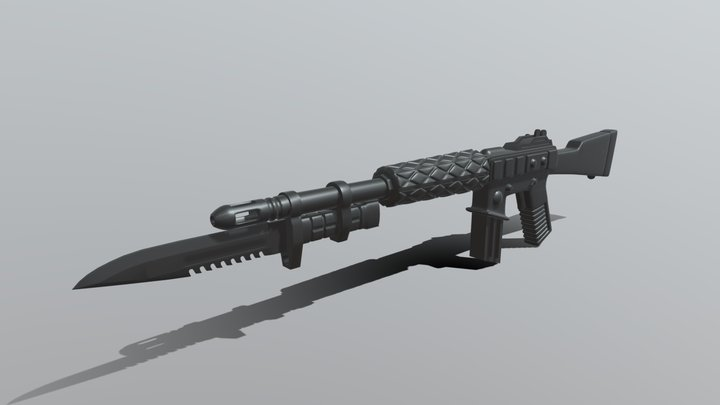 G.I. Joe rifle 3D Model