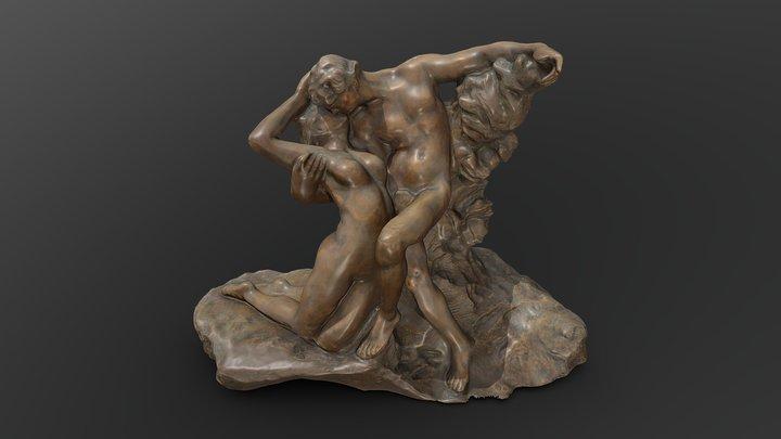 Вечная весна / Embracing Lovers 3D Model