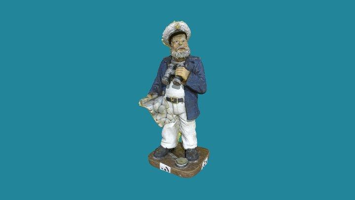 Capitaine 3D Model