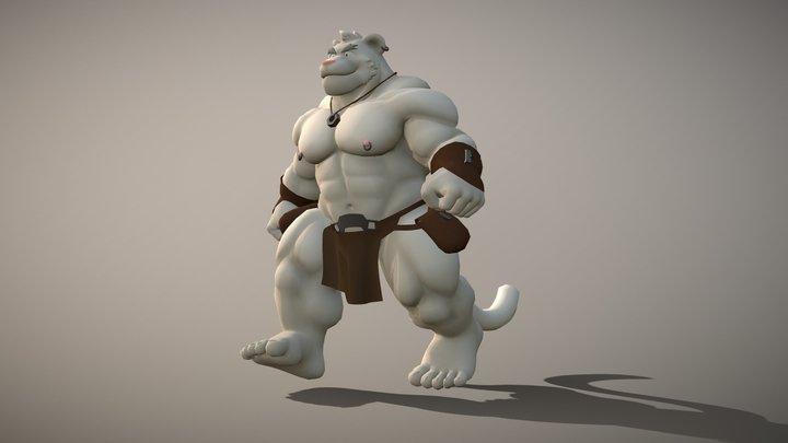 THE WILD BIG CAT 3D Model