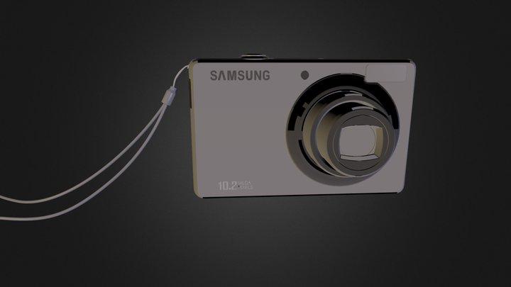 Samsung PL50 Digital Camera 3D Model