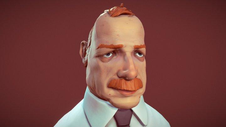 Office guy 3D Model