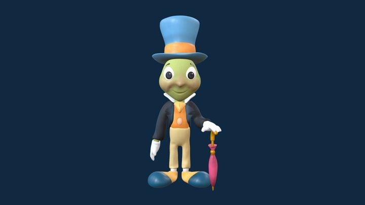 Jiminy Cricket 3D Model