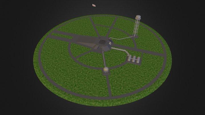 Launchpad 3D Model