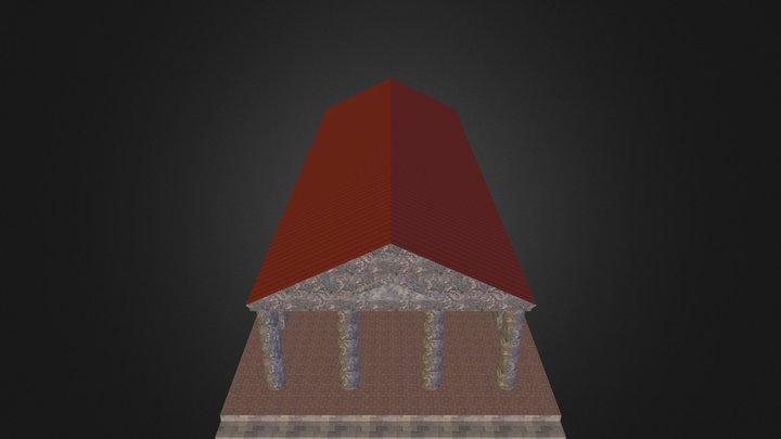 Tempelprostylos.kmz 3D Model