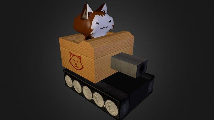 Scout Cat 3D Model