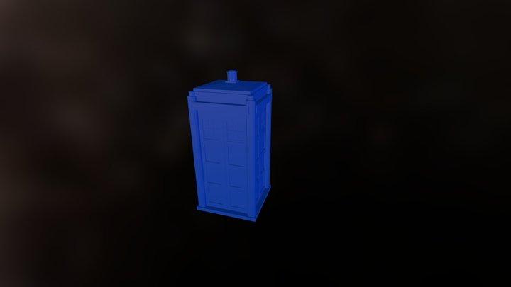 KSP TARDIS v0.2 3D Model
