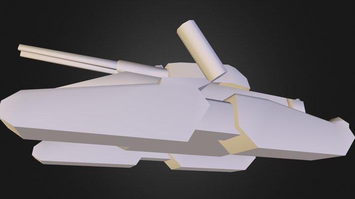 tank 2 3D Model