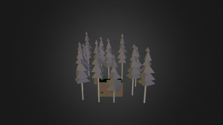 Aalto Alvar - Muuratsalo 3D Model