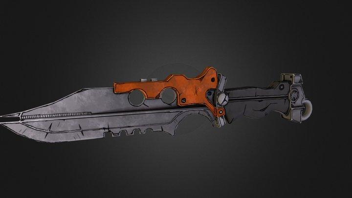 BLknife_LP.obj 3D Model
