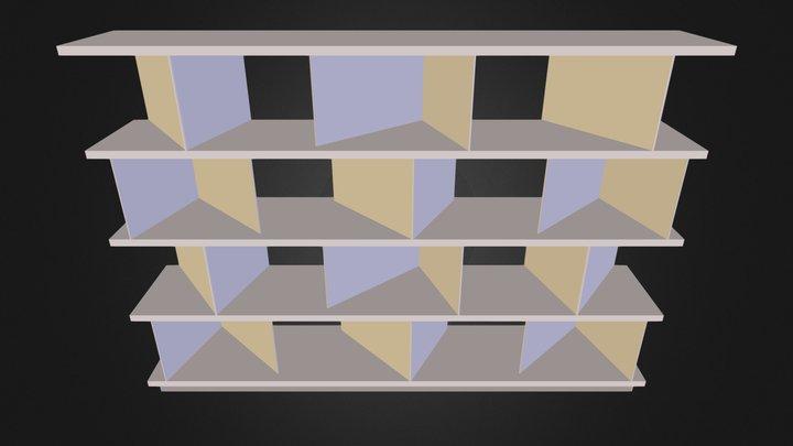 estante 06 3D Model