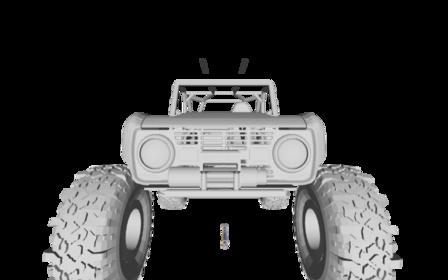 NorCalBronco2.blend 3D Model